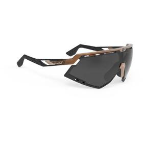 Rudy Project Defender Gafas, bronze matte/fade black/black/smoke black